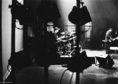 Darren on drums, New Zealand