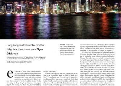 Lucire Travel Story Hong Kong