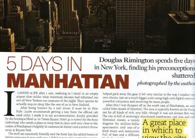 Lucire Manhattan Story
